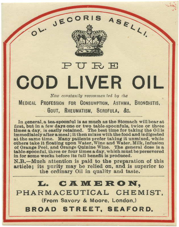 Cabin oil we made this for Is cod liver oil the same as fish oil