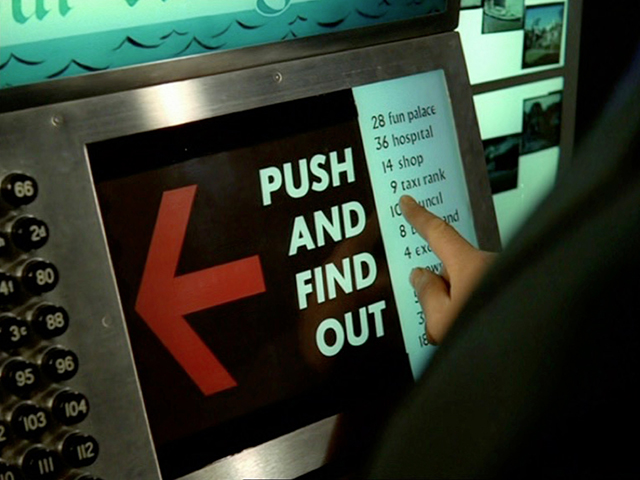 Push and find out