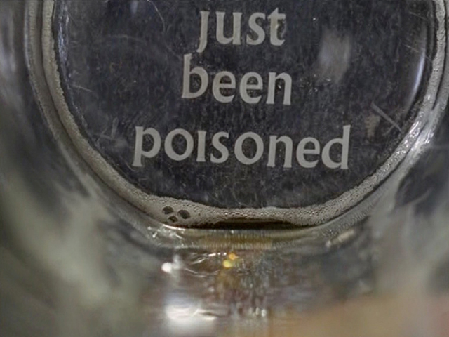 been poisoned