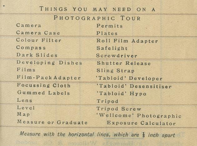 things you may need