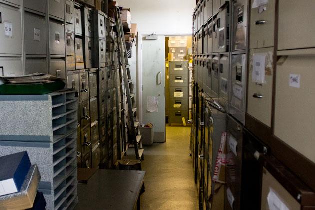 filing room