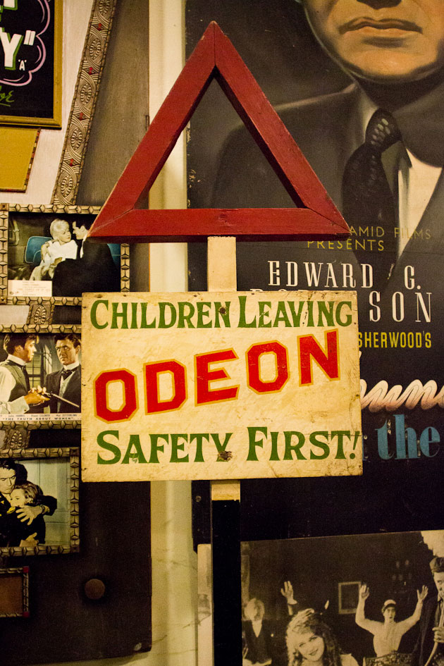 odeon saftey first