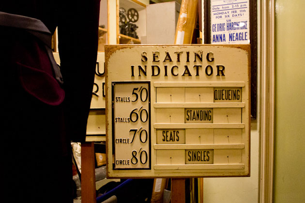 seating indicator