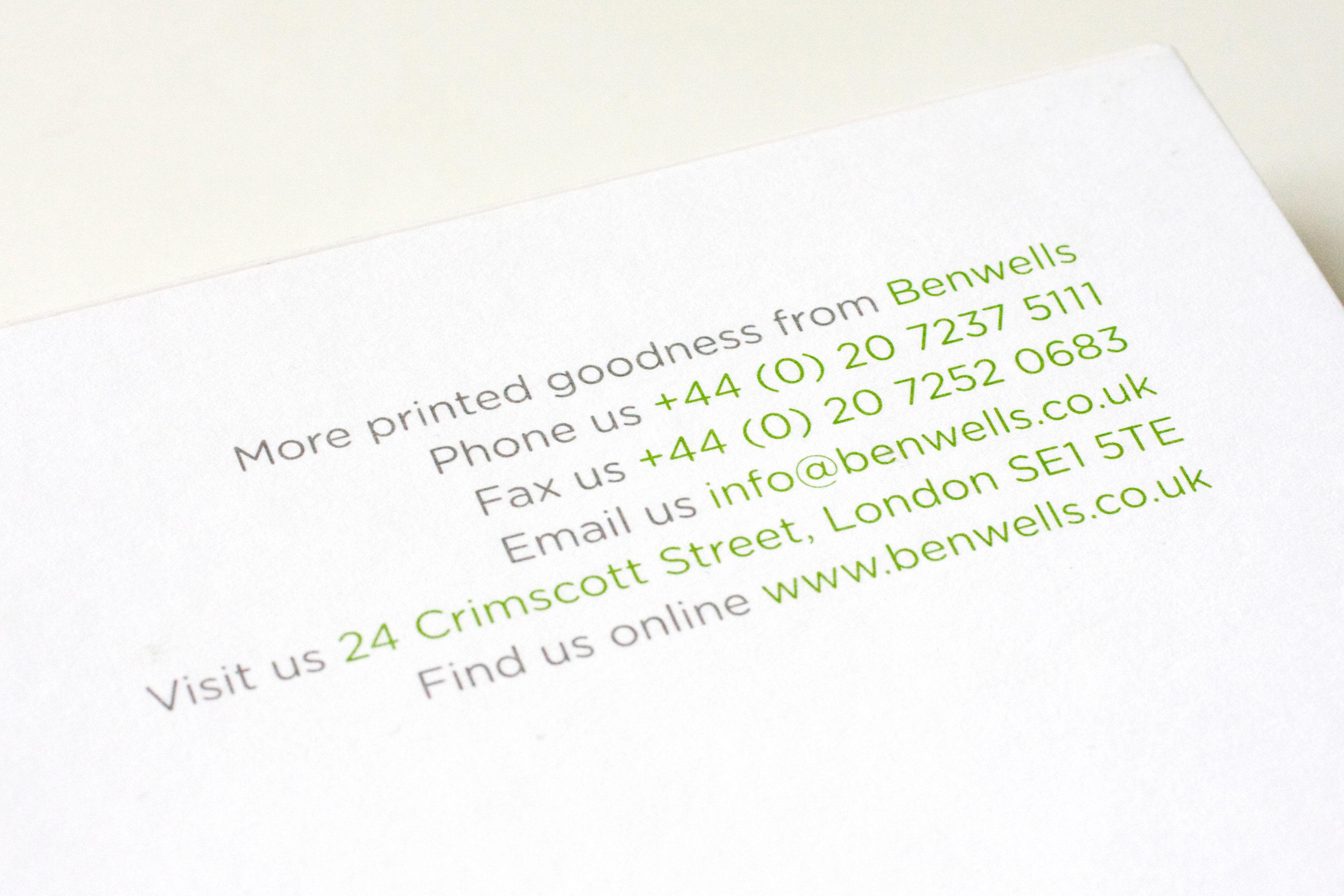 Benwells-text