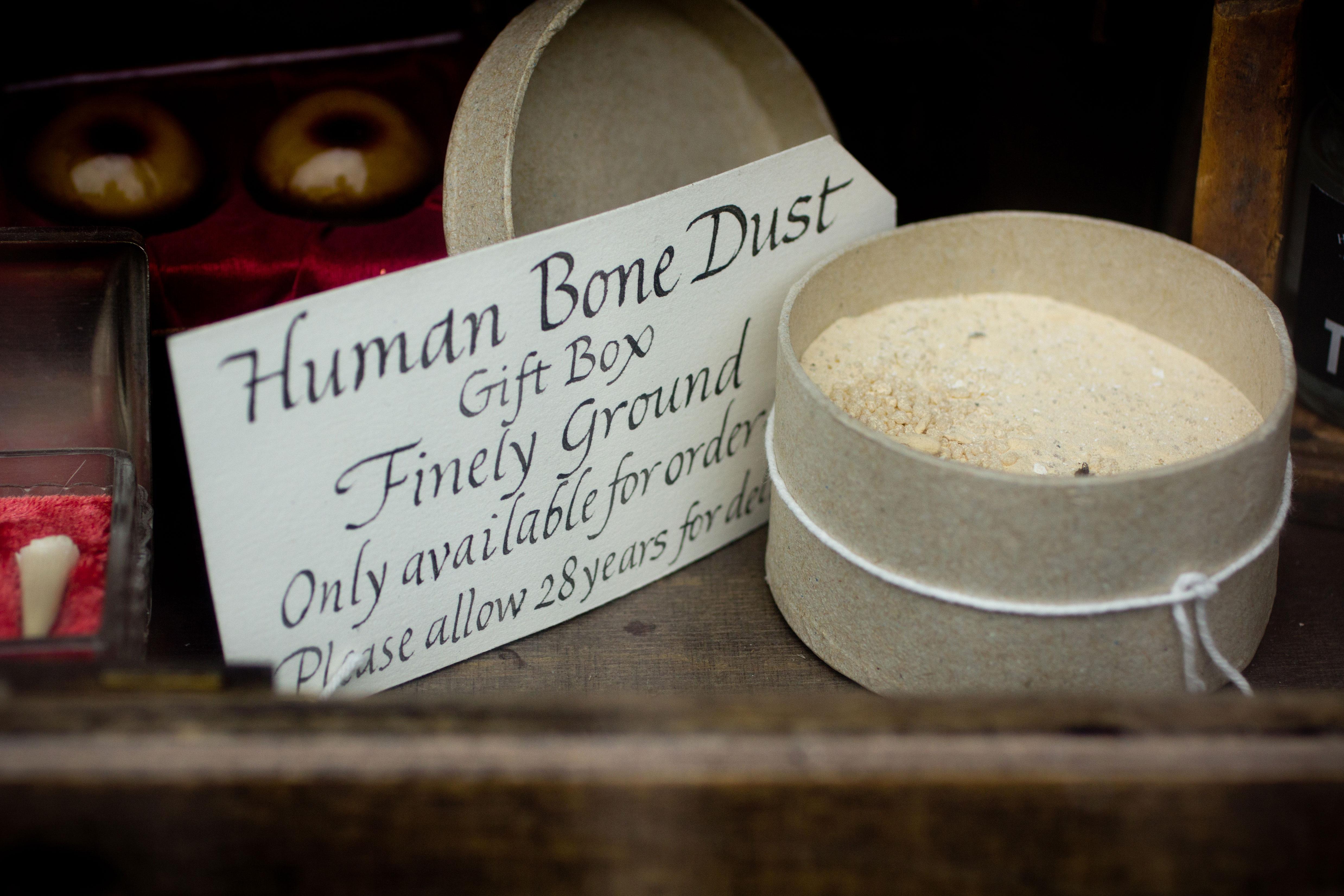 HSMS-human-bone-dust